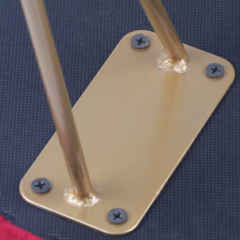 GG-Bench Tabouret en Fer Chaise de Maquillage Chaise créative Simple Changement Chaussures Tabouret canapé Tabouret A
