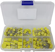0.1uf, 0.01uf, 0.001uf, 100pf, 1uF, Yellow Box MKT Polyester Film Capacitor Assortment