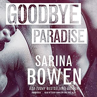Goodbye Paradise                   Auteur(s):                                                                                                                                 Sarina Bowen                               Narrateur(s):                                                                                                                                 Teddy Hamilton,                                                                                        Dake Bliss                      Durée: 8 h et 1 min     4 évaluations     Au global 4,5