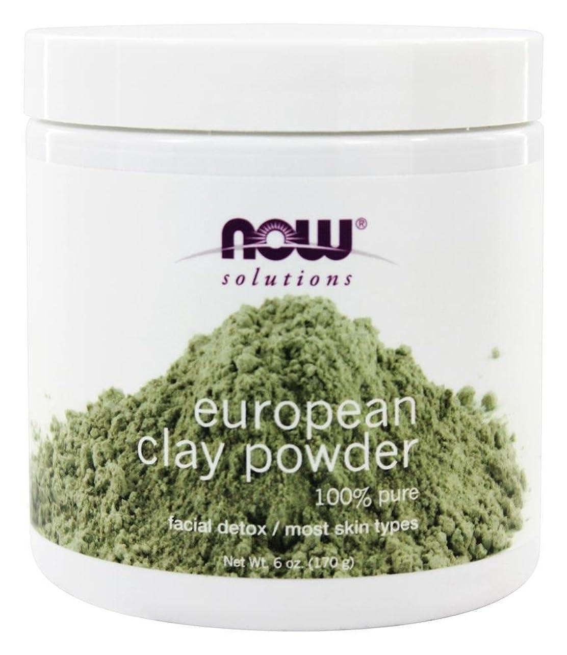 排気高める細部NOW Foods - ヨーロッパの粘土粉末 - 6ポンド [並行輸入品]