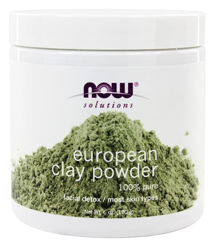 ショートカット引く腹部NOW Foods - ヨーロッパの粘土粉末 - 6ポンド [並行輸入品]