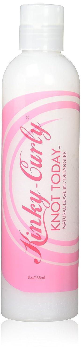 過激派眼汚染Kinky-Curly, Knot Today, Natural Leave in / Detangler, 8 oz (236 ml)