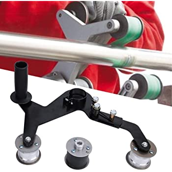 M/áquina pulidora de lijadora de tubos mango port/átil Tubo redondo Lijadoras de banda Pulidora Pulidora Pulidora para acero inoxidable