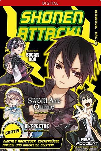 Shonen Attack Magazin #4: Dezember 2017 bis März 2018 (German Edition)