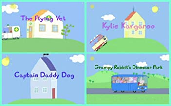 Storybook Collection: The Flying Vet, Kylie Kangaroo, Captain Daddy Dog and Grampy Rabbit's Dinosaur Park