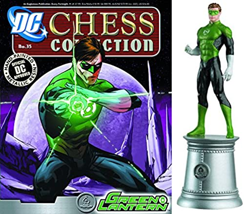 Figuren des Schachspiels Harz DC Comics Chess Collection No 35 Grün Lantern
