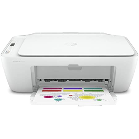 HP 5AR83B DeskJet 2710 All-in-One Printer with Wireless Printing, Instant Ink with 2 Months Trial, White