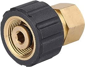 "Challco Pressure Washer Adapter 3/8"" Female Thread Metric Socket M22-14mm Connetor"