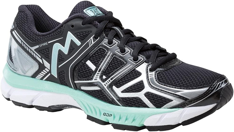 361 Women's Spire Running Sneakers, Black Mesh, Rubber, 8 M