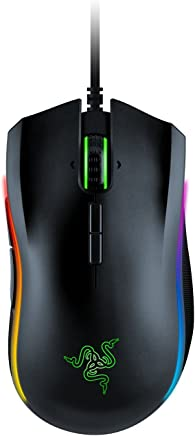 Razer Mamba Elite Wired Gaming Mouse - [16, 000 DPI Optical Sensor][Chroma Rgb][9 Programmable Buttons][Mechanical Switches]