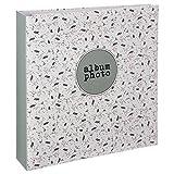 WEB2O Album Photo Grand Format - 500 Photos - 10x15 cm (Fleuri)