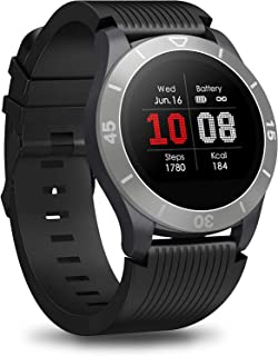 JessFash Sport Smart Watch Fitness Tracker Bluetooth Sport Smartwatch Pantalla táctil Monitor de ritmo cardíaco Monitor de actividad Contador de calorías Monitor de sueño Impermeable IPX68 Llamada SMS