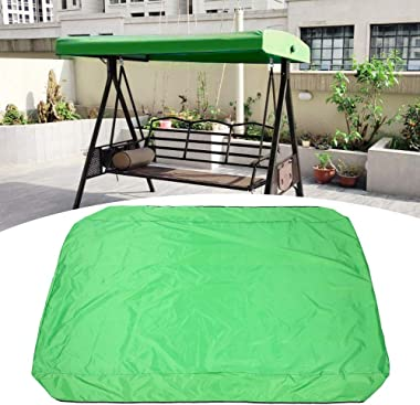 Bicaquu 191X120cm Snow‑Proof Swing Canopy Cover, Frost‑Proof Swing Canopy Cover Replacement, Balconies Gardens for Swing