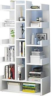 Accueil Bibliothèque Étagère bibliothèque Moderne Bibliothèque Meubles de salon Creative terre de rangement en bois Vitrin...