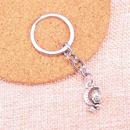 TAOZIAA tellurische wereldbol Charm Hanger Sleutelhanger Sleutelhanger Ring Ketting Accessoires Sieraden Maken Voor Geschenken