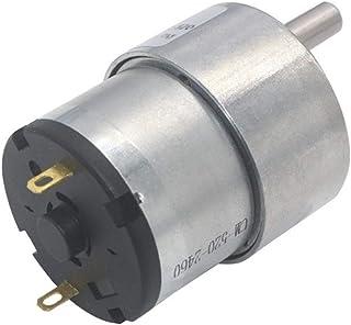 Leloo Lruirui-Motor DC högt vridmoment växelbox elektrisk motor ny Gearmotor, 37 mm 12 V DC 7 RPM till 960 RPM, gör-det-sj...