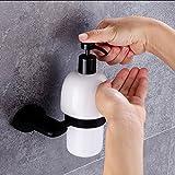 QIN Europäischer Stil Duschlotionsspender Kupfer Schwarz Seifenspender Toilette Handseife Badezimmer