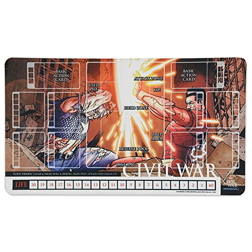 Review Marvel Dice Masters: Civil War Playmat