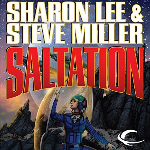 Saltation audiobook cover art