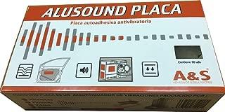 Anti-vibraciones Placas adhesivas antivibraciones (Aluminio-