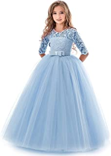 ec66ed76ee01 Amazon.com  Big Girls (7-16) - Special Occasion   Dresses  Clothing ...