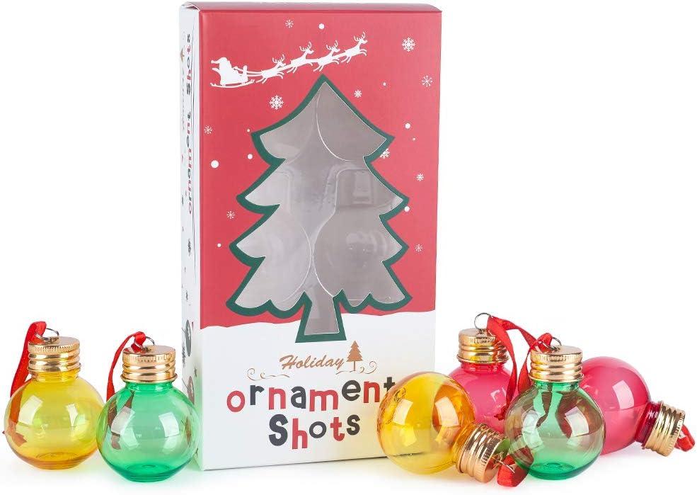 Mealivos ornament Spirit Shot Glasses of Under shop blast sales 6 Set -