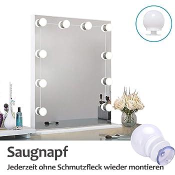 Spiegel Beleuchtung, 10Pcs dimmbaren LED Make up Spiegel