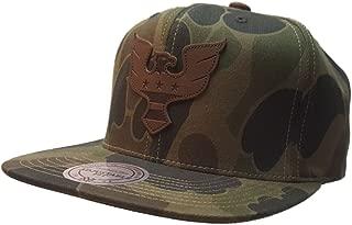 Mitchell & Ness D.C. United Green Camo Adjustable Flat Bill Strapback Hat Cap