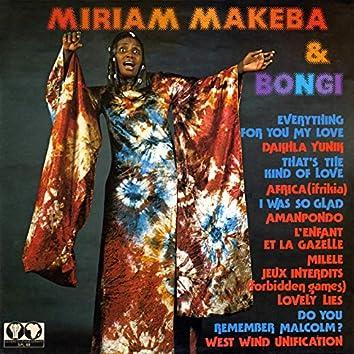 Miriam Makeba et Bongi