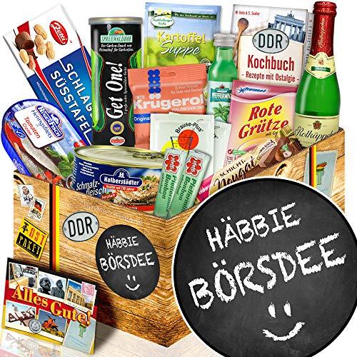 Häbbie Börsdee ++ Ostpaket DDR Spezialitäten ++ Geschenke zum Geburtstag