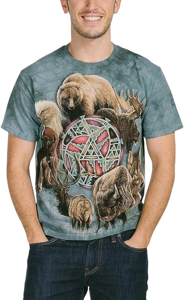 The Mountain Men's Spirit Circle Animal National Columbus Mall uniform free shipping