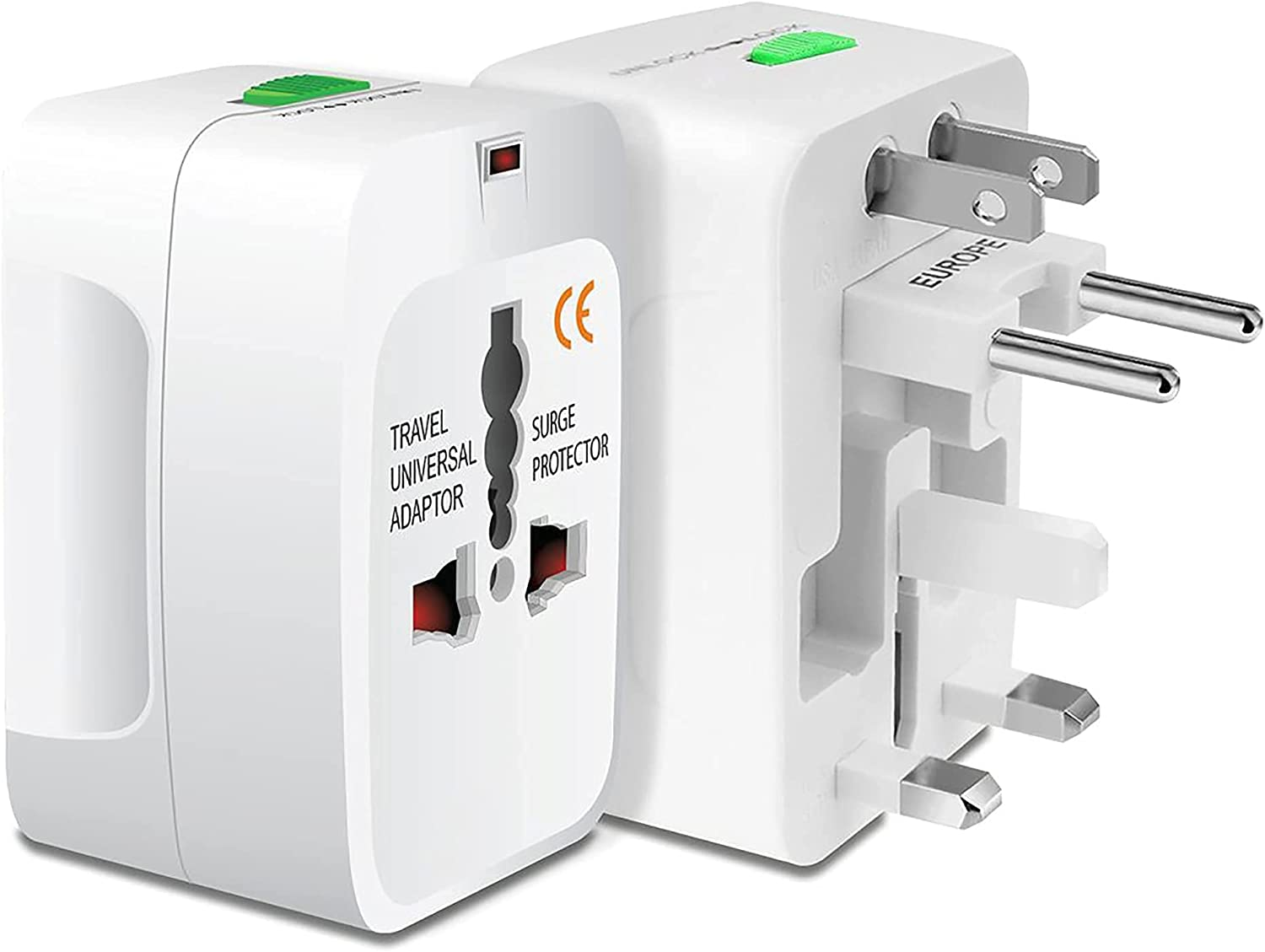 Worldwide Power Adapter Works for Nokia 6290 is Universal for 90% of Travel Between US/EU/CN/AUS/NZ/UK Type