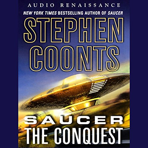 Saucer audiobook cover art