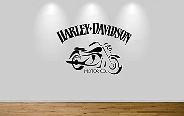 Harley Davidson Motorbike Wall Sticker Decal 1309
