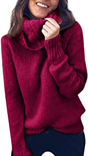 3XL 2019 Sweaters for Women Knitted Under 10 Dollars Fashion for Work Casual Warm Pullover Jumper Tunic Tops Winter