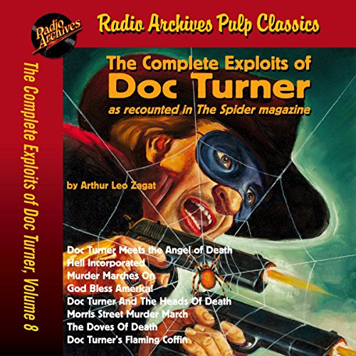 The Complete Exploits of Doc Turner, Volume 8 audiobook cover art
