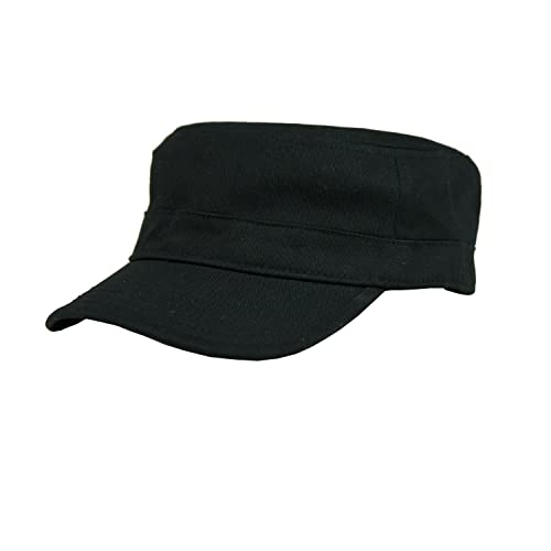 664494f1 Free Bird 99 Low Profile Cotton Flat Top Peaked Army Military Cadet Cap Hat