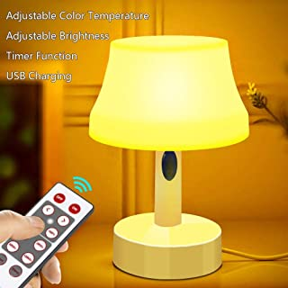 ZEEFO LED Night Light, Portable Simple Design Nursery Lamps, Remote Control Battery..
