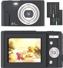 Digital Camera - Compact Vlogging Camera 1080P with 36.0...