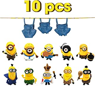 Vocado Action Figures, Anime Figures, 10pcs Small Lovely Action Figures Toy, Inner Car and Desktop Decor, Prefect Choice for Christmas Thanksgiving Day Birthday, Ages 3 and Up