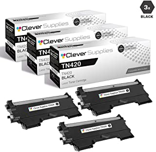 CS Compatible Toner Cartridge Replacement Brother TN420 TN-420 3 Black DCP-2240D 2270DW 7055 7057 7060D 7065DN 7070DW HL-2130 2135W 2220 2230D 2240D 2242D 2250DN 2270DW
