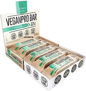 Vegan Pro Bar (10Unid) - Sabor Amendoim Crocante, Nutrify