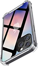 Vebach Compatible with 12 Pro Case, Diamonds Clear Case, Anti-Yellowing, 4 Shock-Absorbing Corners, Anti- Drop Hard PC Back and Shock-Absorbing Soft TPU Edge,Clear Case for 12 6.1 Inch