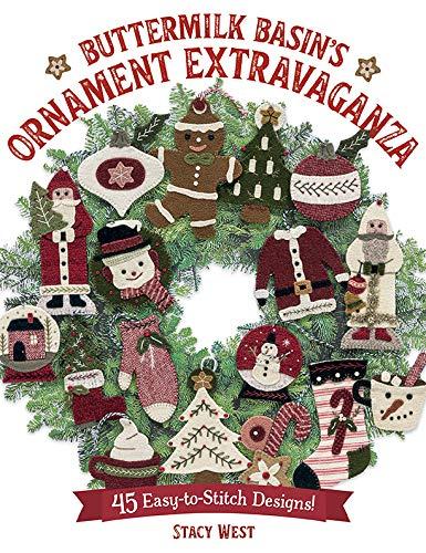 Buttermilk Basin's Ornament Extravaganza: 45 Easy-to-Stitch Designs! (English Edition)