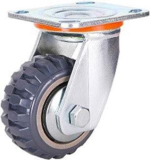Silent Universal Wheel Heavy Brake Wheel Trolley Directional Caster (Kleur: A-Bokwielen)