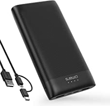 Omars Slimline PW37 Power Bank (Black 20000aMh)