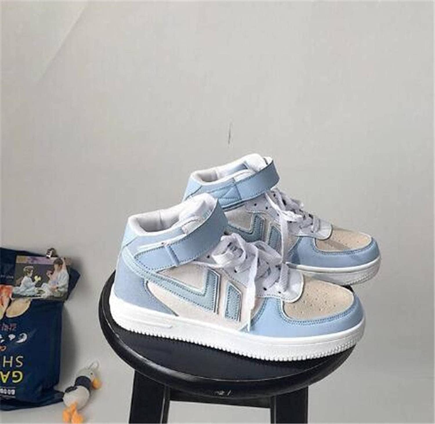 Platform P U Womens Sneakers Shoes Fashion Light Weight Shoes Womanhightop Walking Lace Up Ladies Casual Sneakers