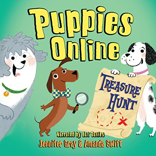 Puppies Online: Treasure Hunt cover art