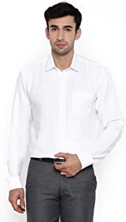Chennis White Long Sleeve Regular Fit Shirt