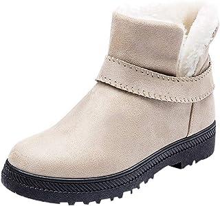 Sunday Winterschoenen voor dames, winterschoenen, pluche laarzen, korte instaplaarzen, platform, warme sneeuwlaarzen, maat...